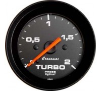 Manomêtro Turbo 2 Kg 52MM ( Preto ) Cronomac