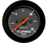 Manomêtro Turbo 3 Kg 52MM ( Branco ) Cronomac