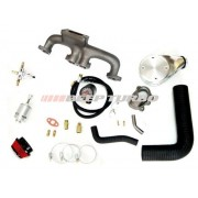 Kit turbo Fiat - Argentino - Carburado 1.5 / 1.6 / 1.6 R (Fiorino LX) Sem Turbina para 384
