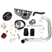 Kit turbo GM - Corsa 1.0 MPFI  c/ coletor Ferro Fundido s/ ar e dir. sem Turbina