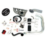 Kit turbo GM - Corsa 1.6 MPFI - coletor ferro fundido s/ ar e dir. sem Turbina